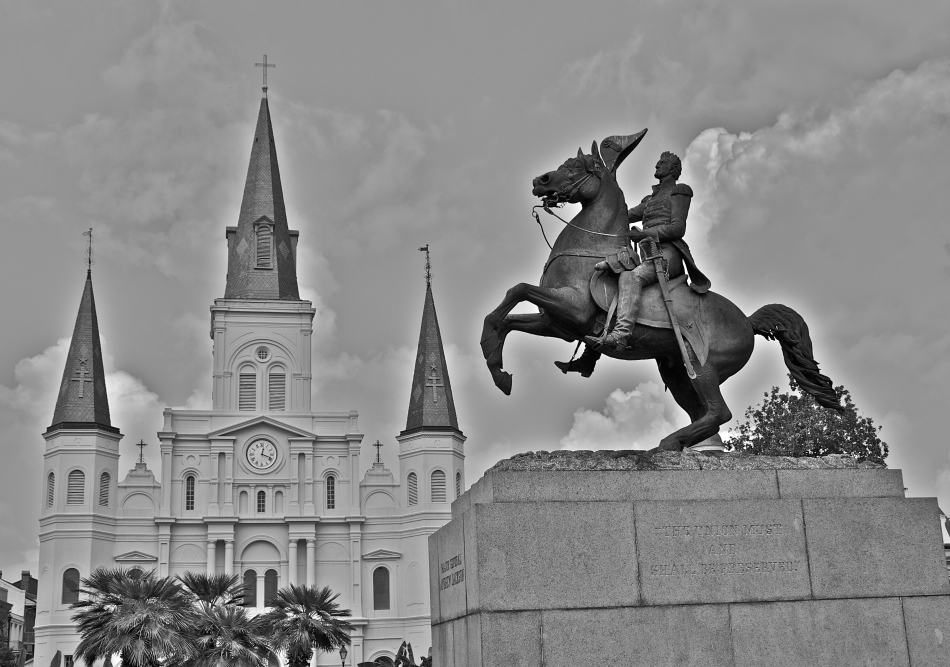 ...andrew jackson...at historicjackson square
